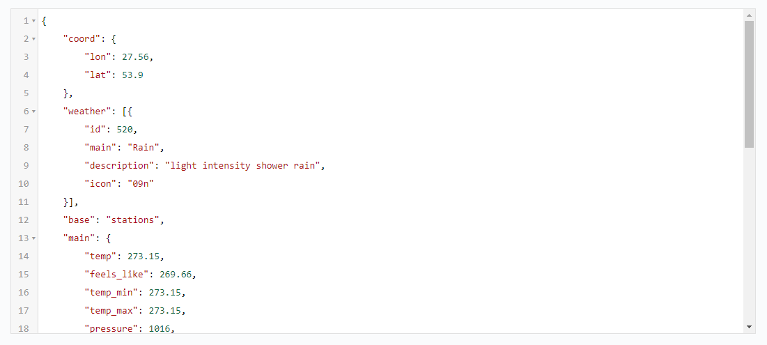 Блок API 2